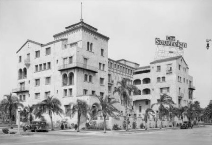 Sovereign Apartments, 1931. Source: USC Digital Library