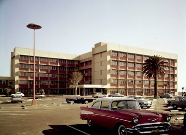 RAND Corporation, 1962. Photograph by Julius Shulman. Source: Getty Research Institute.