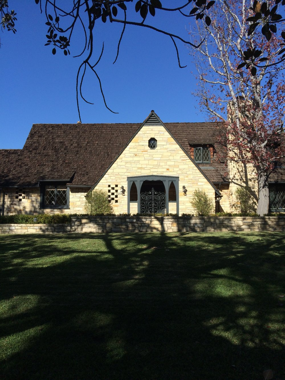 Tudor Revival house by Paul R. Williams
