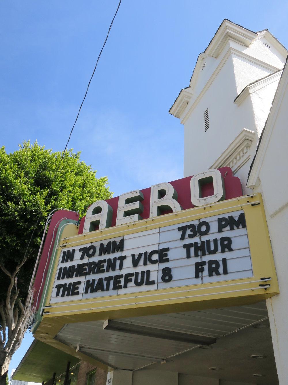 Aero Theater, 1328 Montana Avenue (1939, P.M. Woolpert)