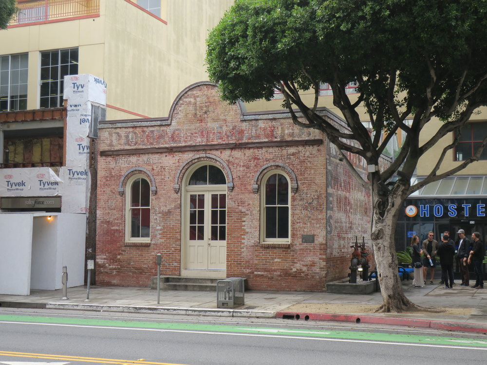 Rapp Saloon, 1438 2nd Street (1875; City of Santa Monica Landmark #1)