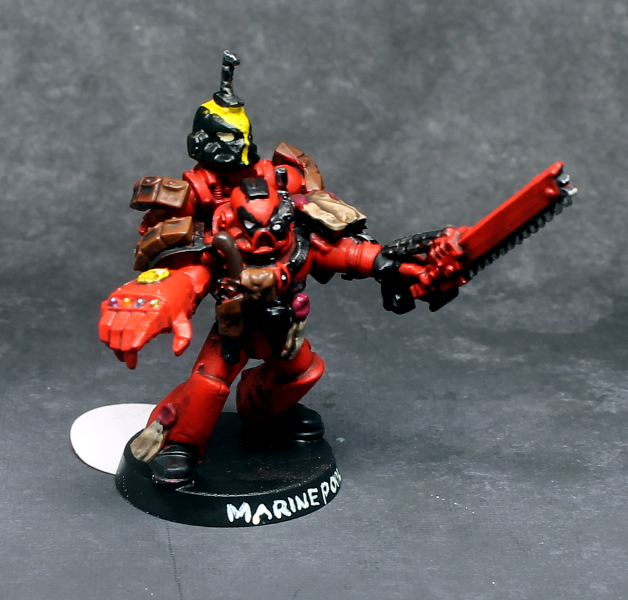 Deadpool Marine