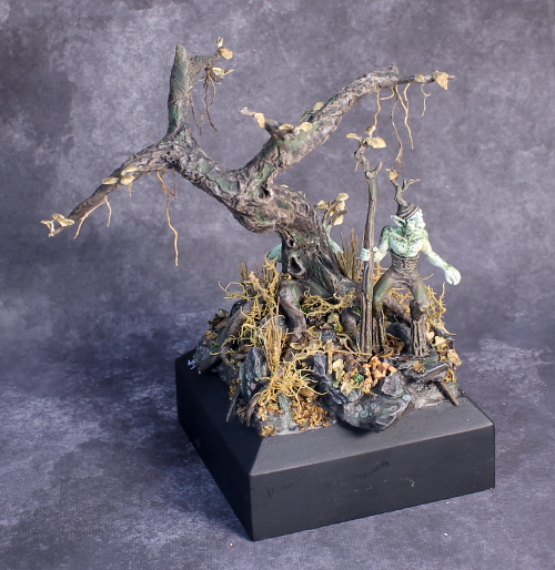 Jason Roy Ford Diorama Bronze