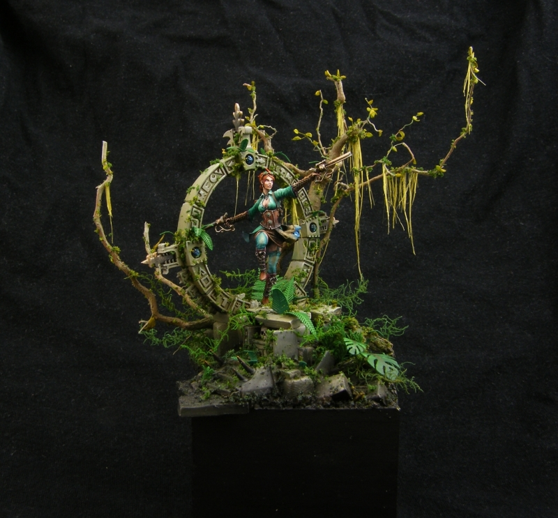 Zara Kroft CanCon Painting Competition 2014 Silver