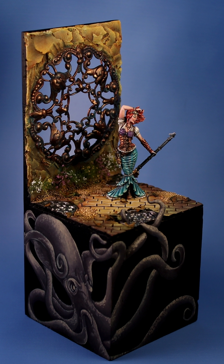Arielle Twisted Miniatures Reaper Con 2013 Gold