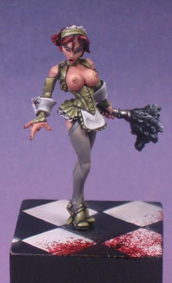 Brigitte the Maid Reaper Miniatures