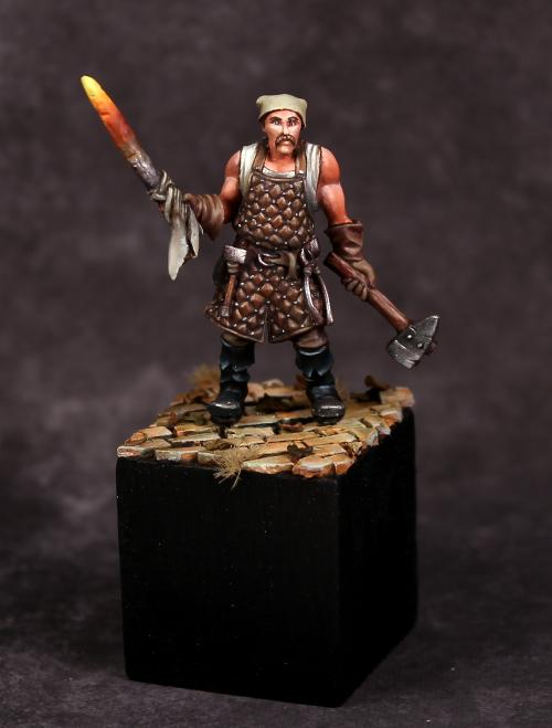 The Blacksmith Guild of Harmony Miniatures