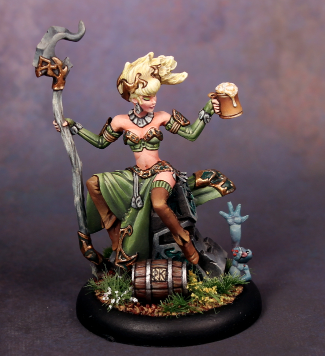 The Druid Gone Wilder Privateer Press Convention Exclusive