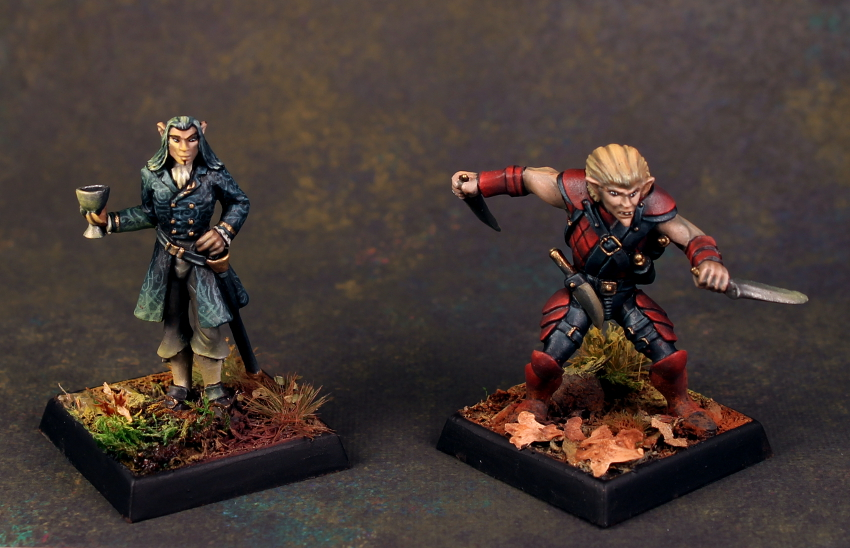 Prince of Wolves Cover turned into a Miniature Diorama. Commission by the author of the book, Dave Gross