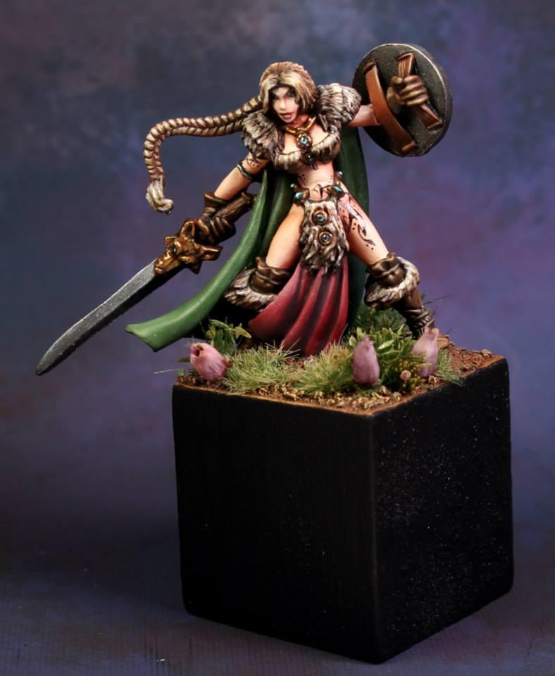 Viking Girl Reaper Miniatures