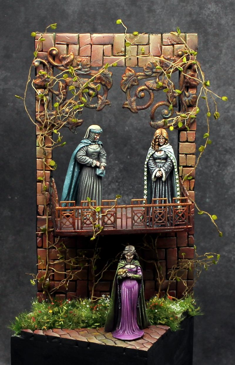 Kings Landing Diorama GenCon Painting Competition Bronze Dark Sword Miniatures