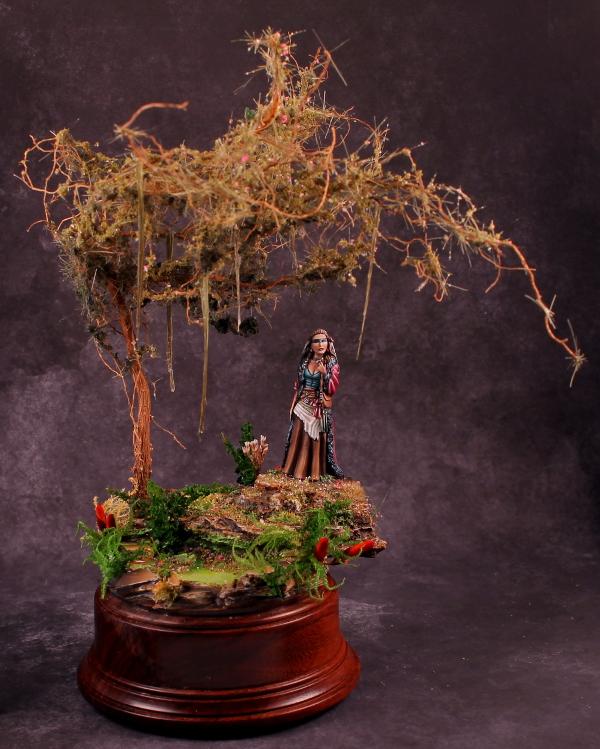 Swamp Witch Dio Dark Sword Miniatures
