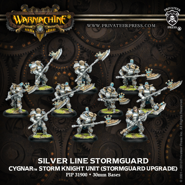 Silver Line Stormguard Privateer Press - Box Art