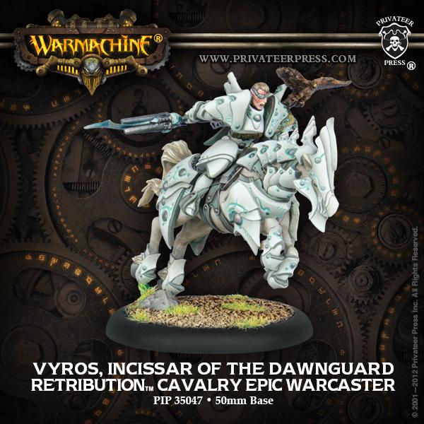 Vyros Epic Warcaster Privateer Press - Box Art