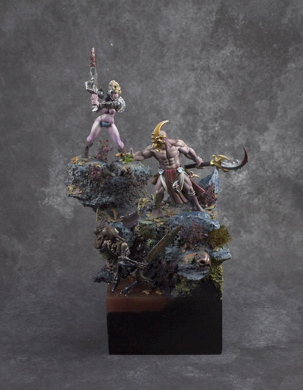 Sorceress vs Acolyte