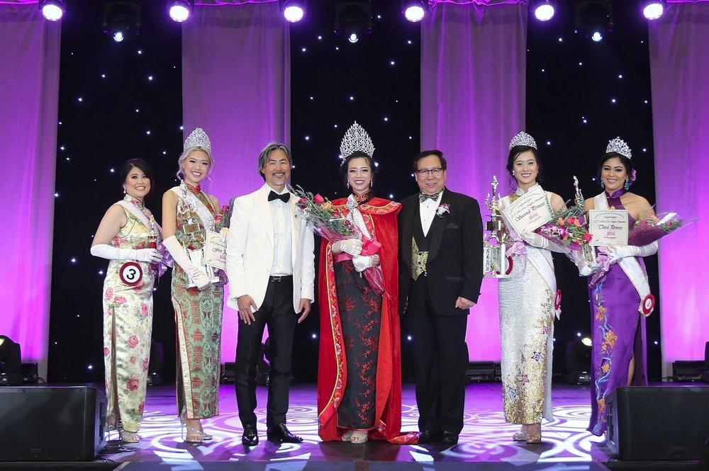 Miss Los Angeles Chinatown 2019 Court
