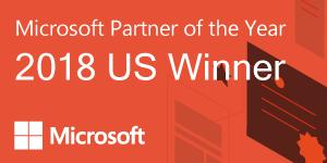 Microsoft Partner of the Year 2018 US Winner