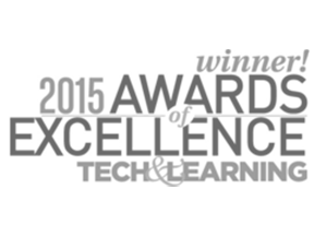 2015 Tech and Learning New Product Award of Excellence.png