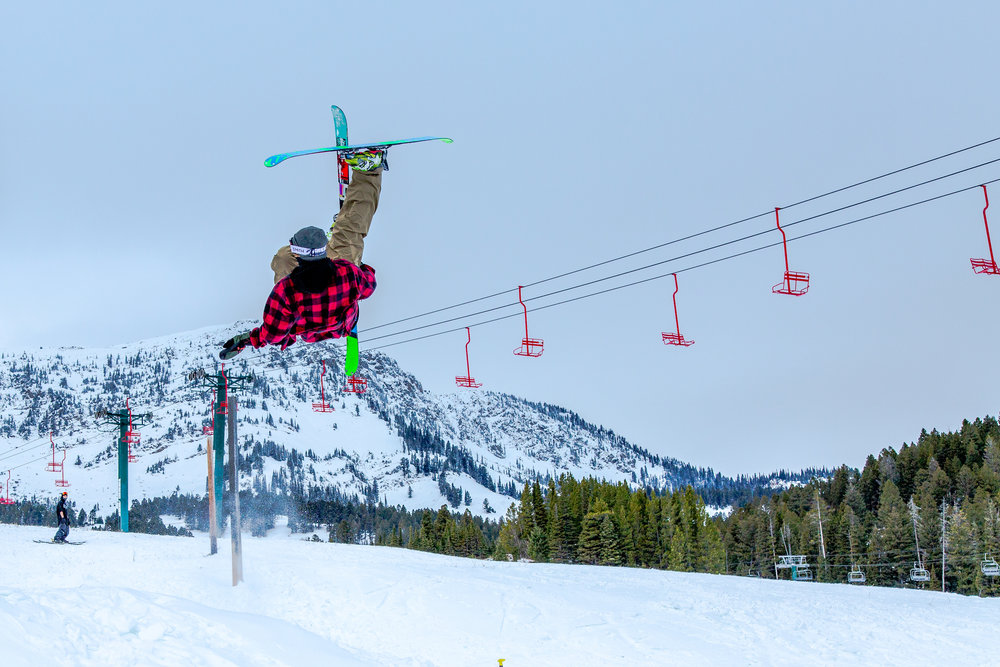 Early Season at Bridger Bowl Ski Area