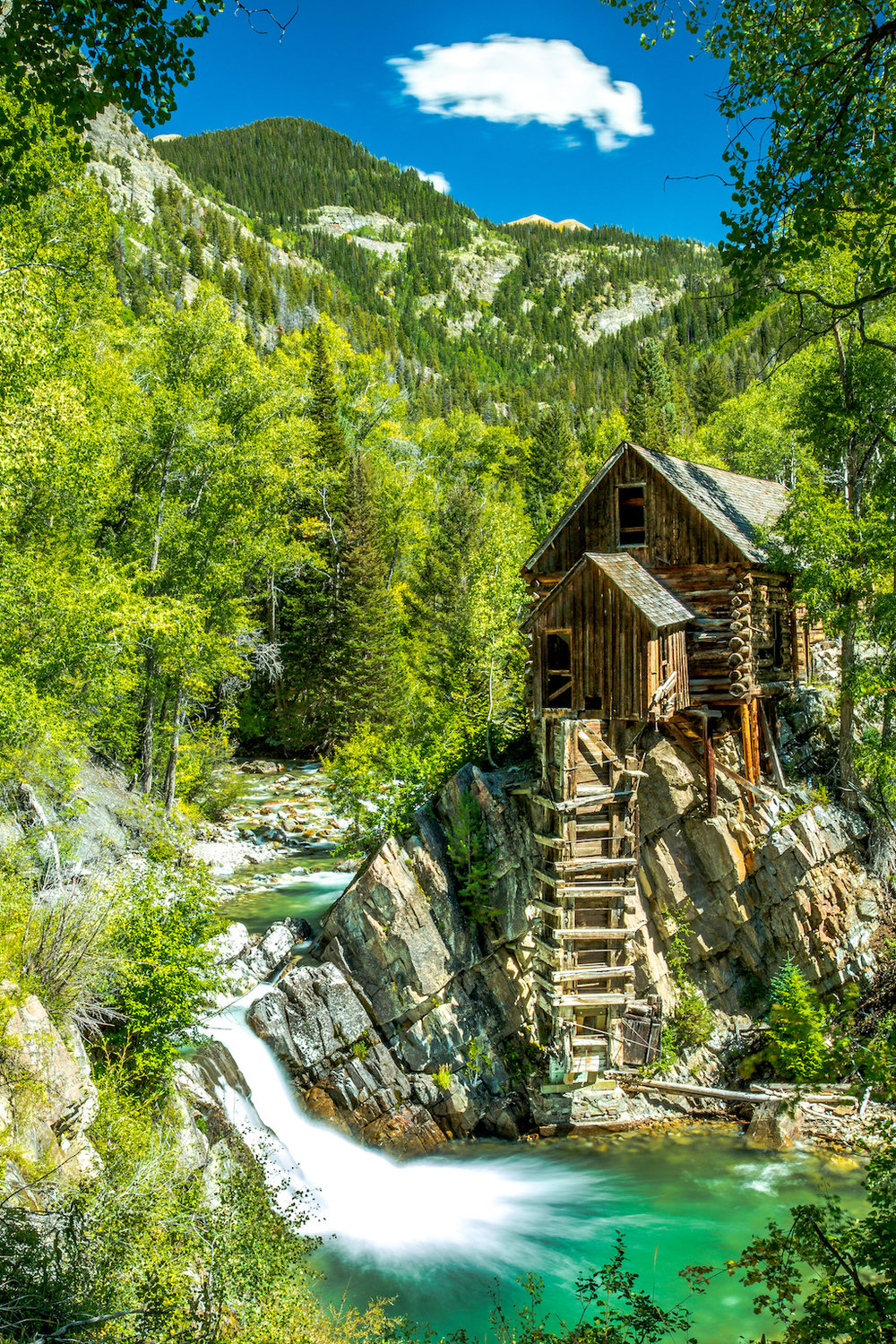 Crystal Mill, Crystal Colorado