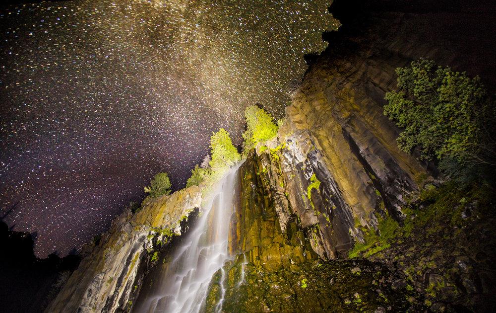 Palisade Falls, Montana