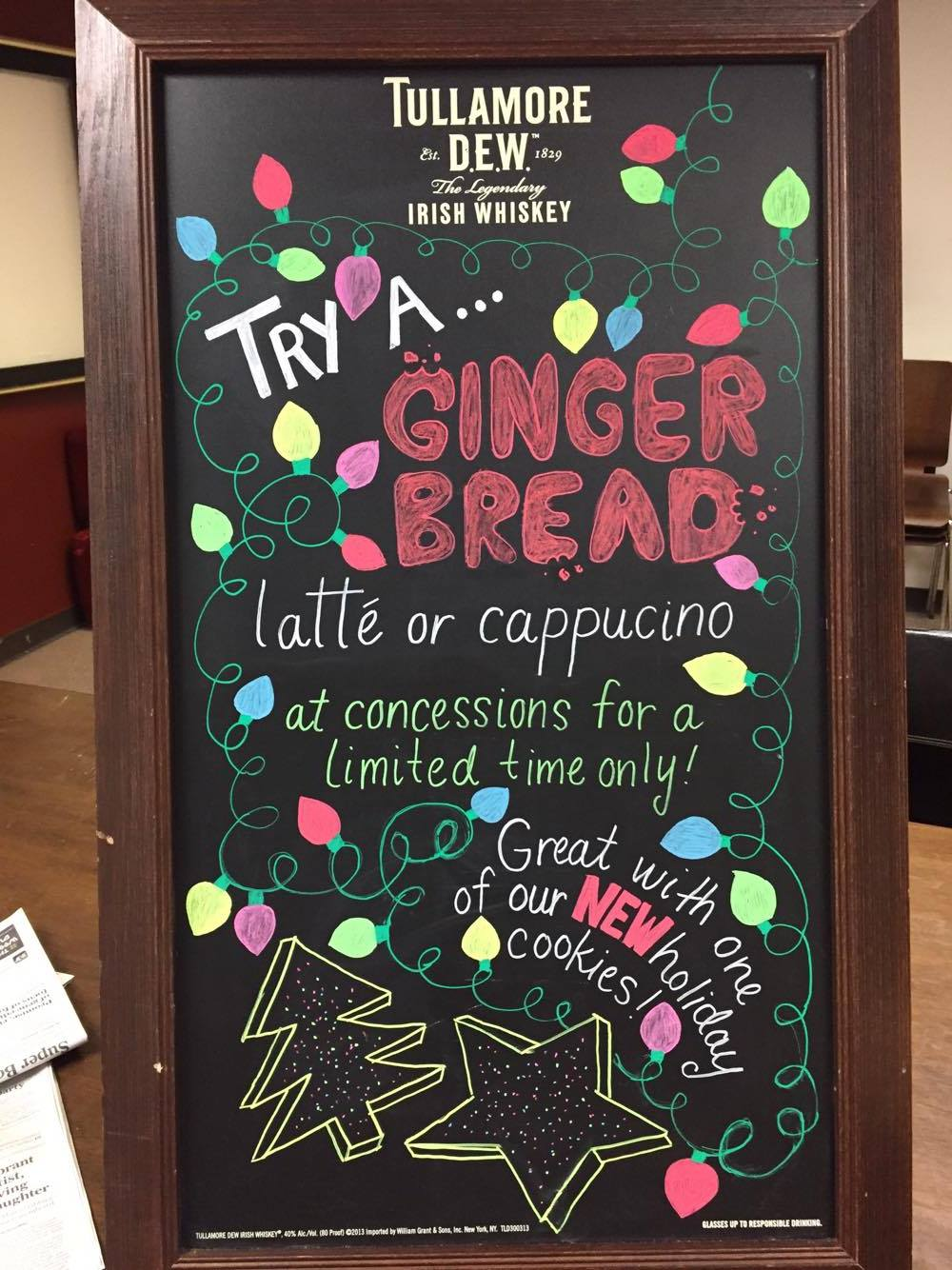 Gingerbread Drinks