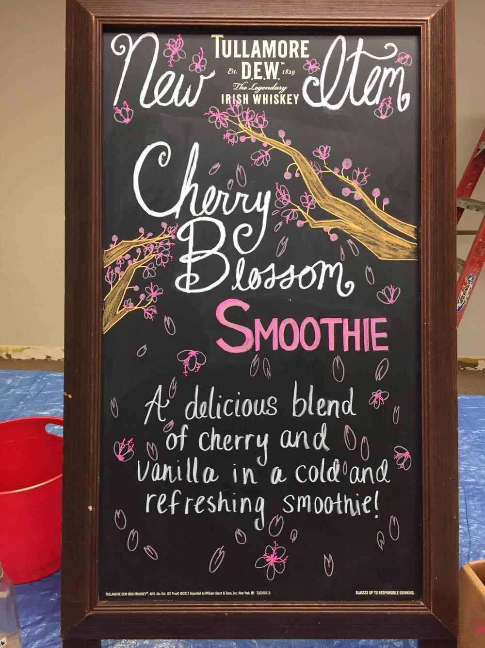 Cherry Blossom Smoothie