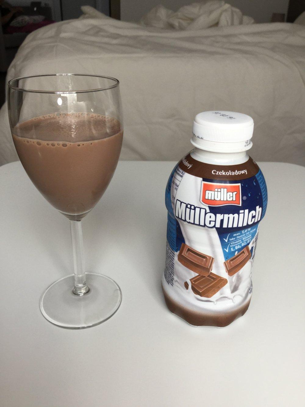 Müller Müllermilch Ciocolata Cup