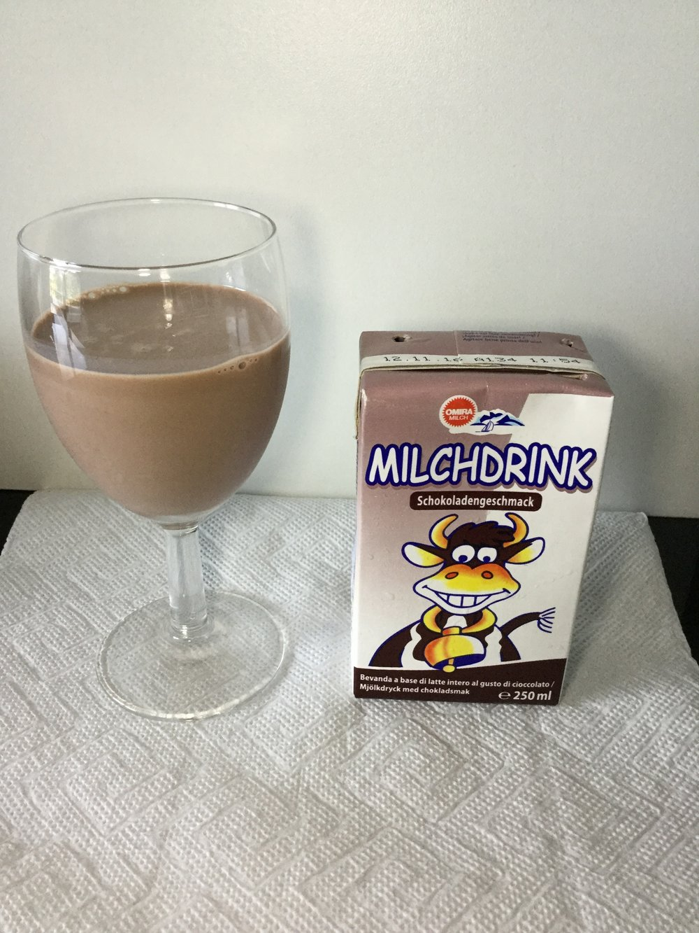 Omira Milchdrink Schokoladengeschmack Cup