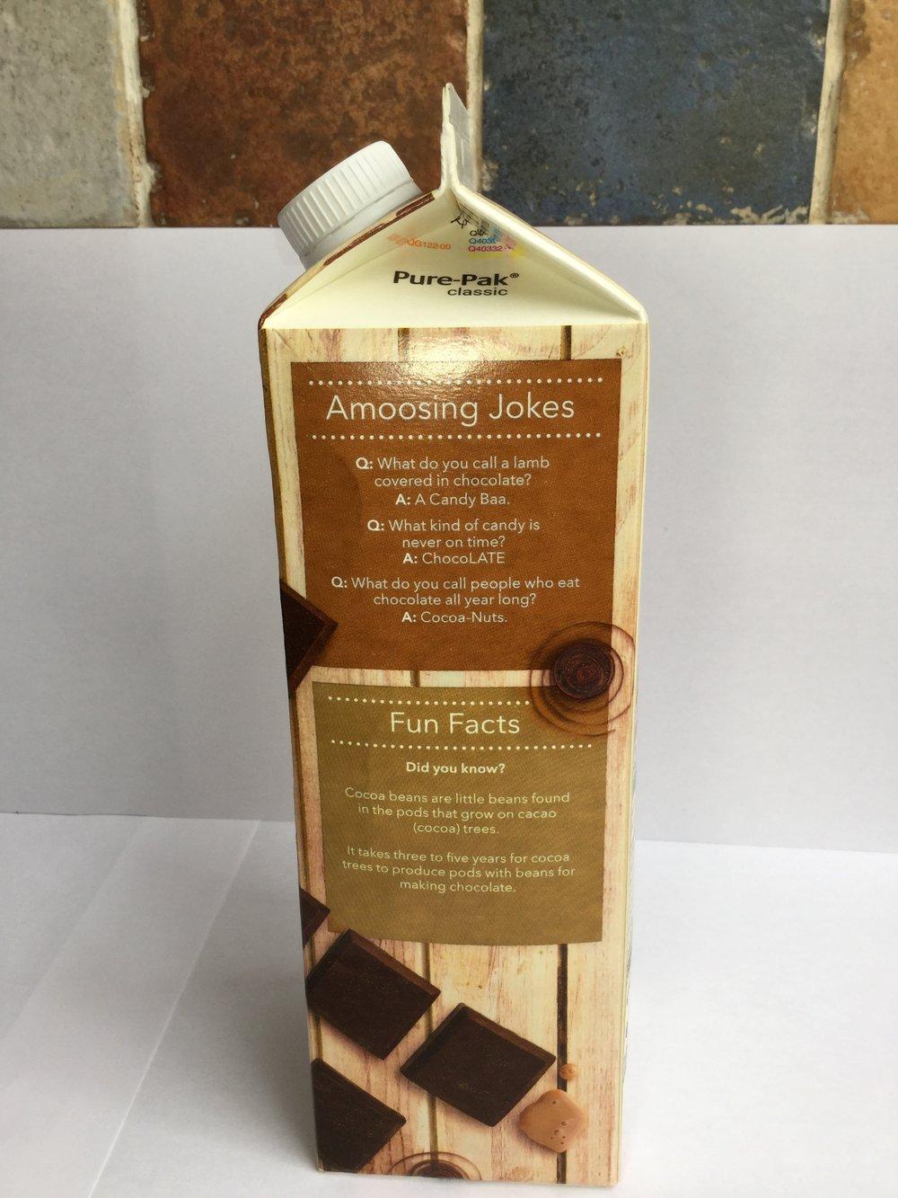 Coop Chocolate Milk Side 2