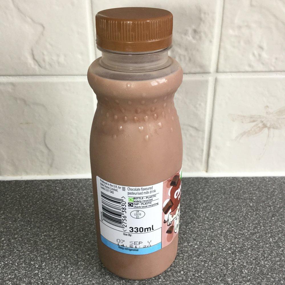Asda Chocolate Flavoured Milk Side 2