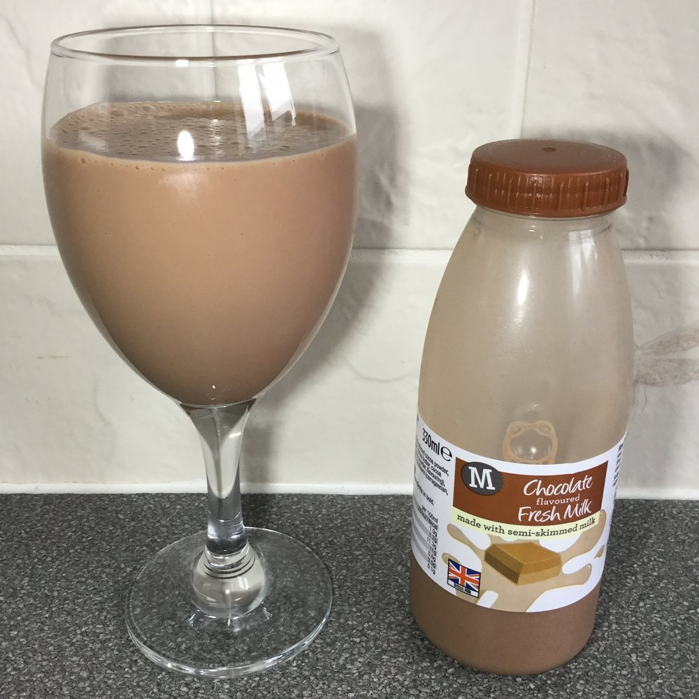 Morrison's Chocolate Flavored Milk Cup