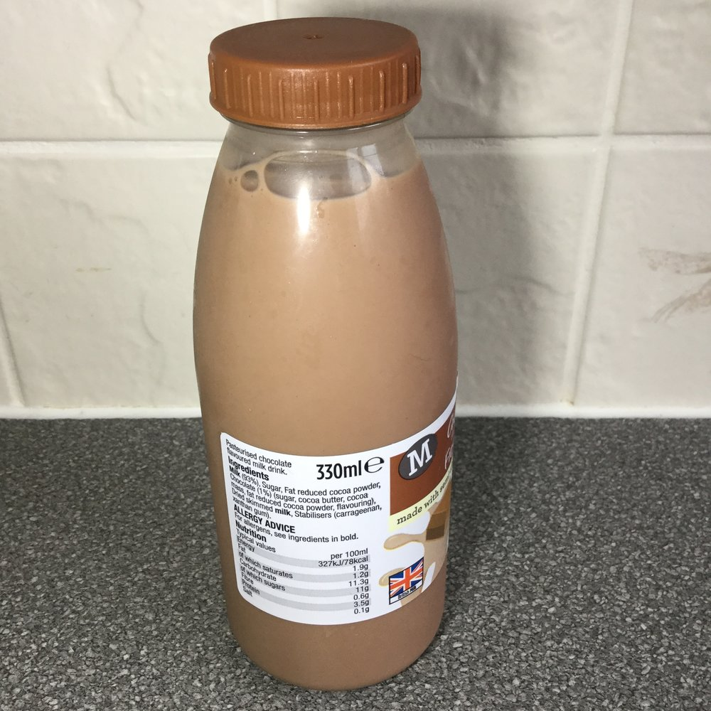 Morrison's Chocolate Flavored Milk Side 1