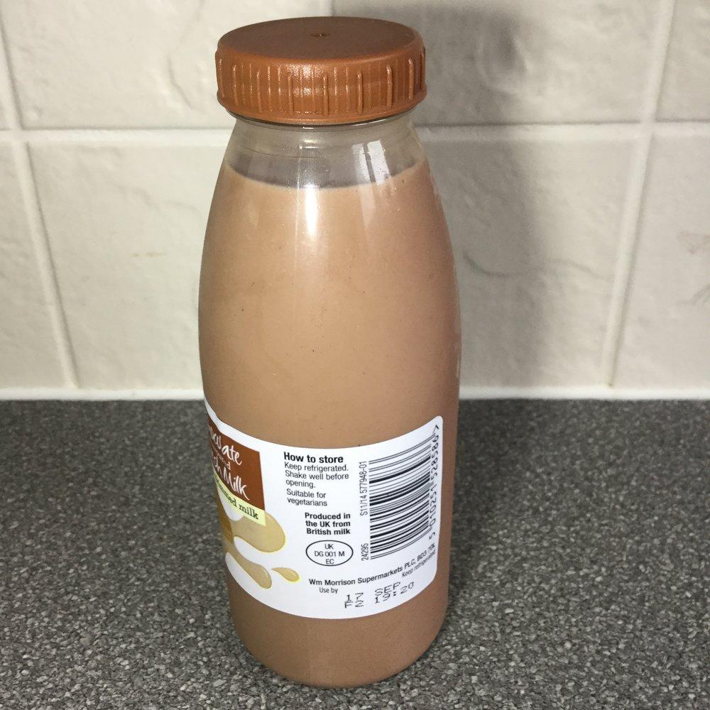 Morrison's Chocolate Flavored Milk Side 2