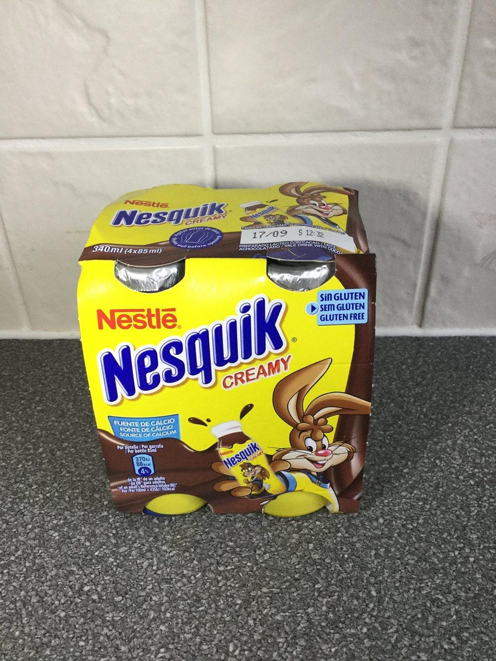 Nestle Nesquik Creamy Side 2