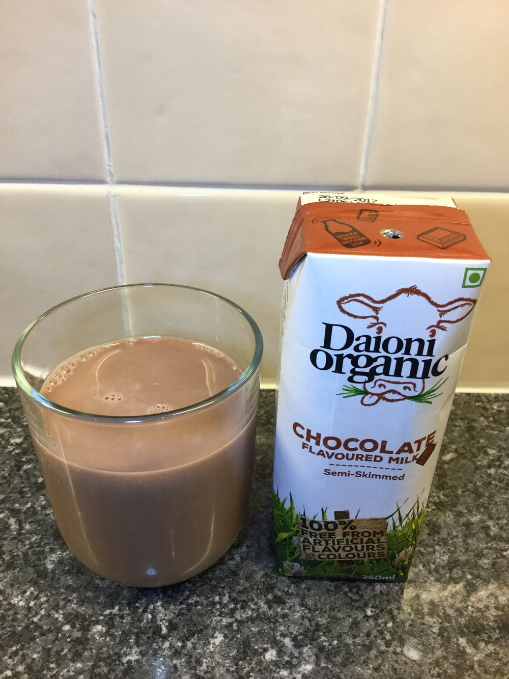 Daioni Organic Chocolate Flavoured Milk Cup