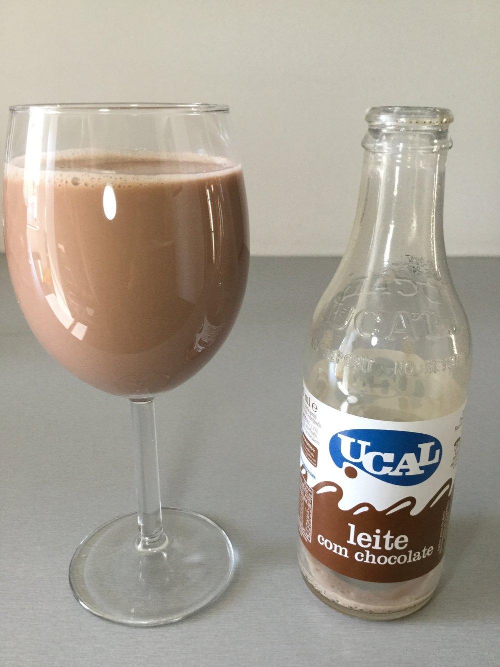 Ucal Leite Com Chocolate Cup