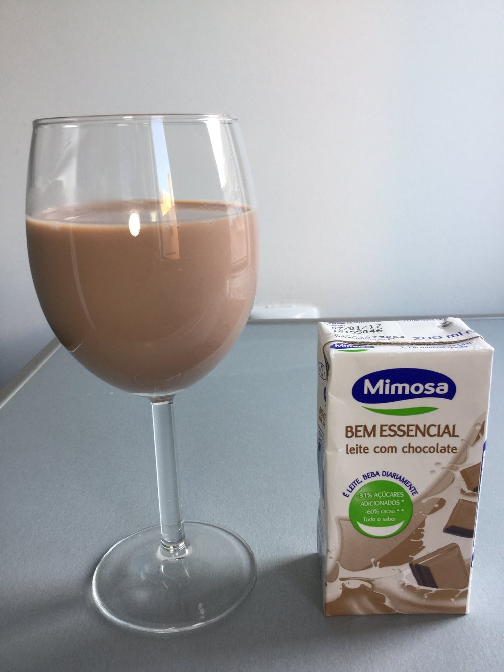 Mimosa Bem Essencial Leite Com Chocolate Cup