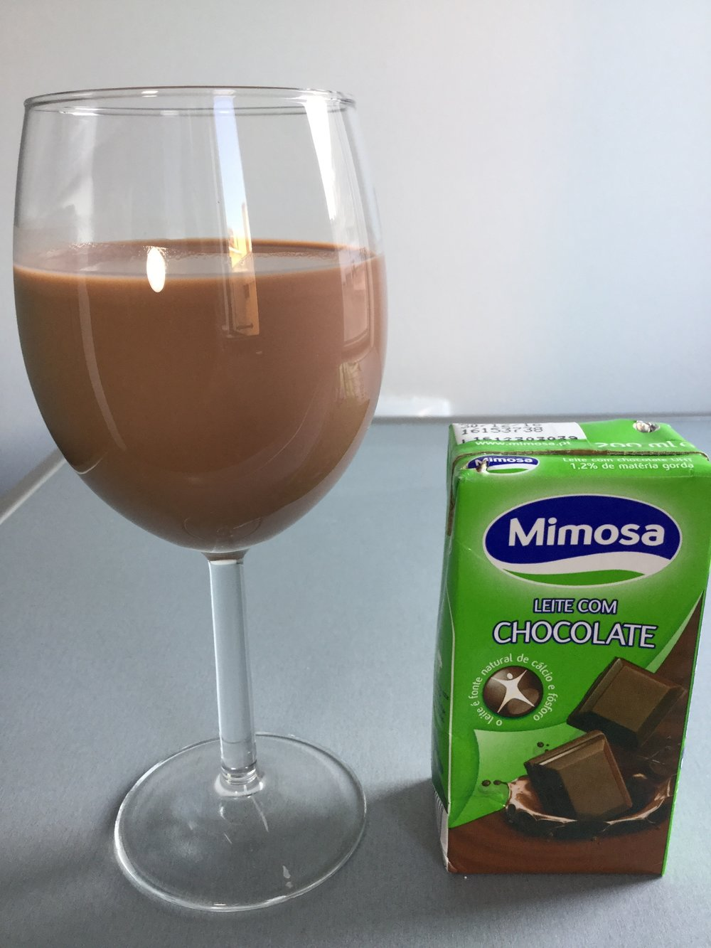 Mimosa Leite Com Chocolate Cup