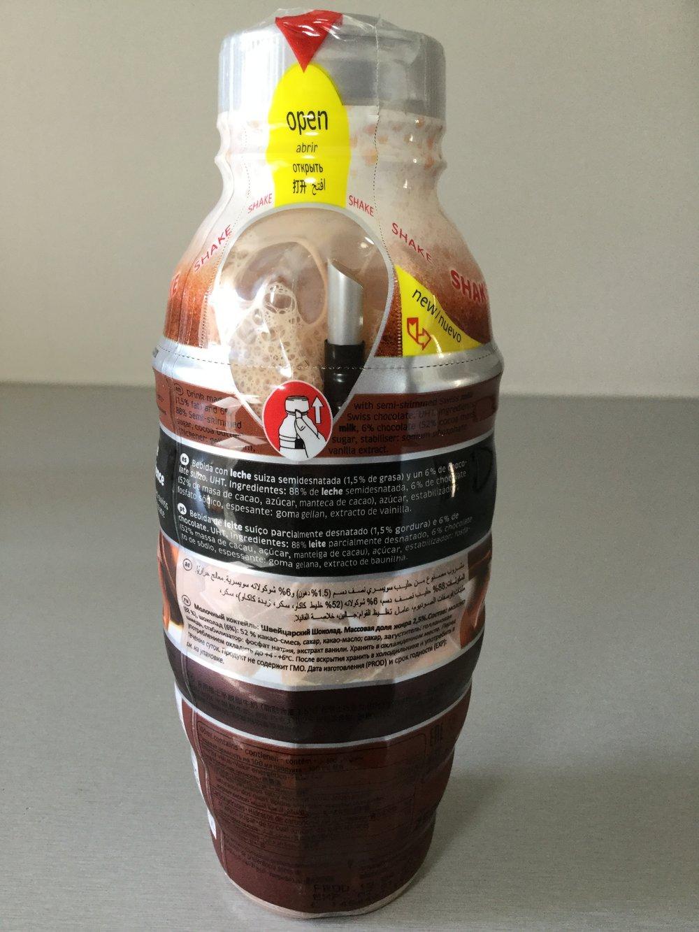 Shakeria Swiss Chocolate Milkshake Side 2
