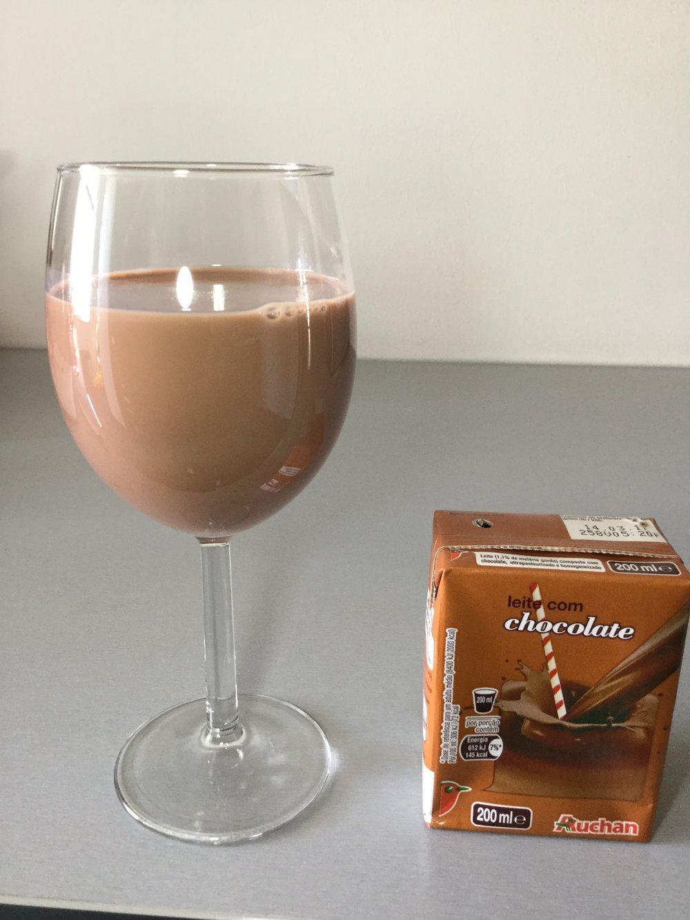 Auchan Leite Com Chocolate Cup