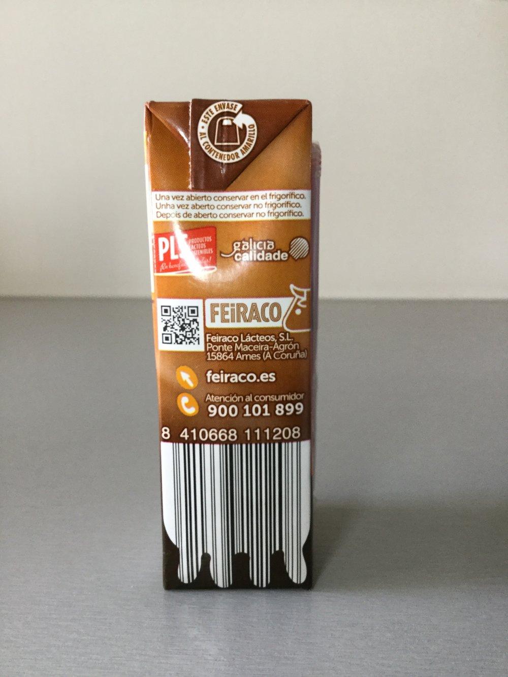 Feiraco Batido De Chocolate Side 2