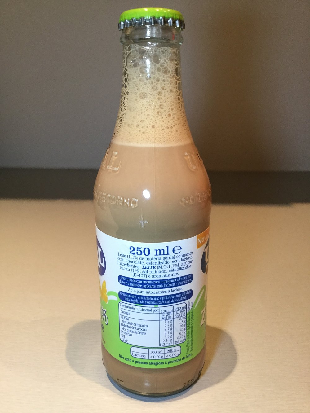 Ucal Zero Lactose Leite Com Chocolate Side 1
