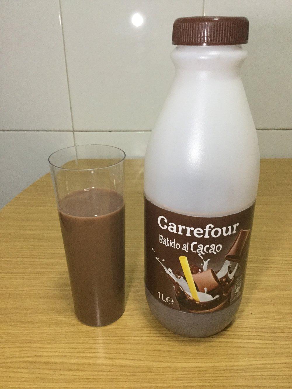 Carrefour Batido Al Cacao Cup