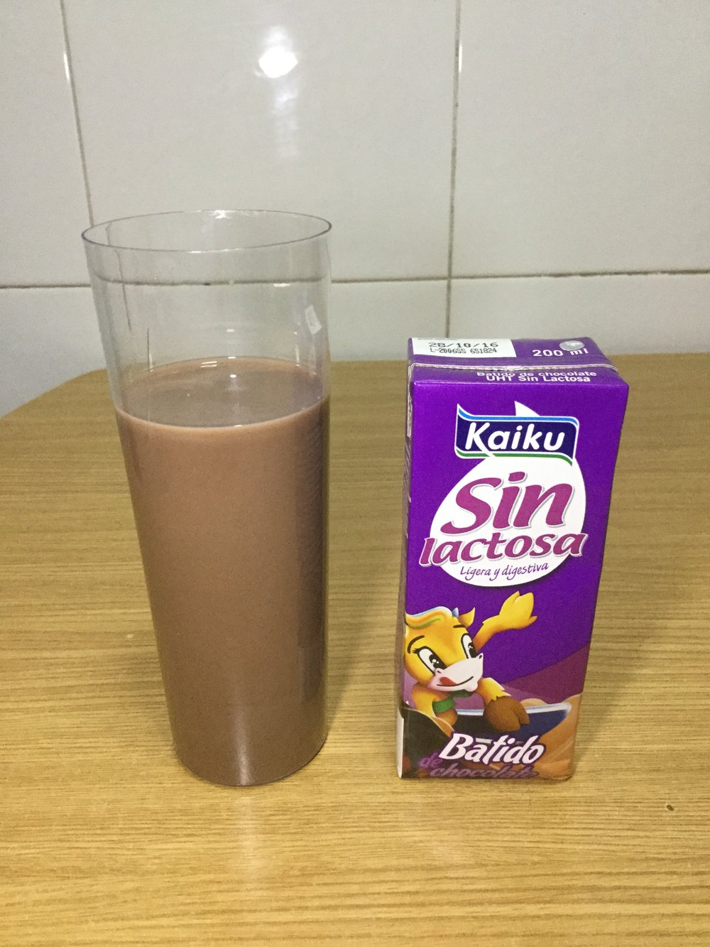 Kaiku Sin Lactosa Batido De Chocolate Cup