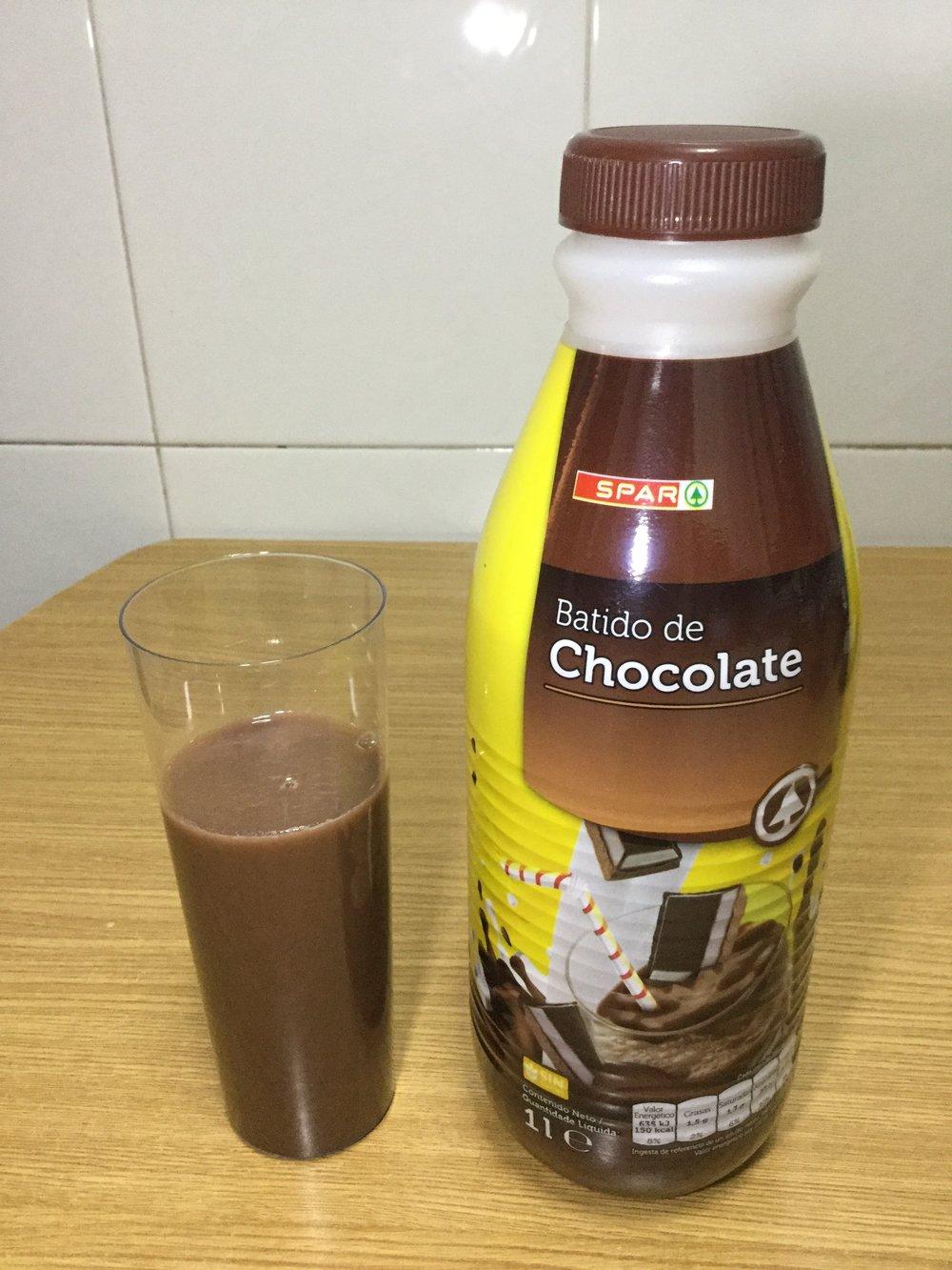 Spar Batido De Chocolate Cup