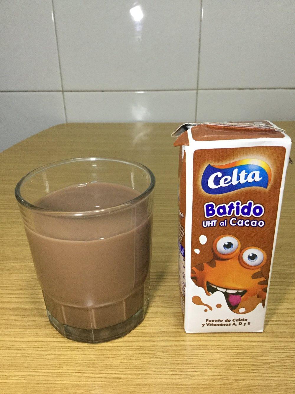Celta Batido Al Cacao Cup