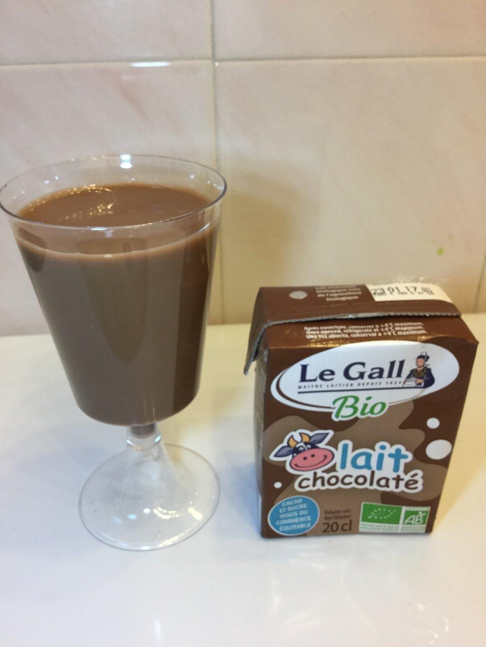 Le Gall Bio Lait Chocolaté Cup