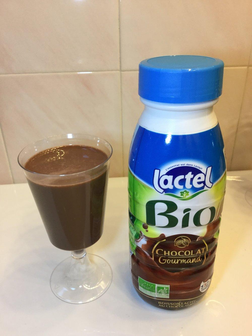 Lactel Bio Chocolat Gourmand Cup