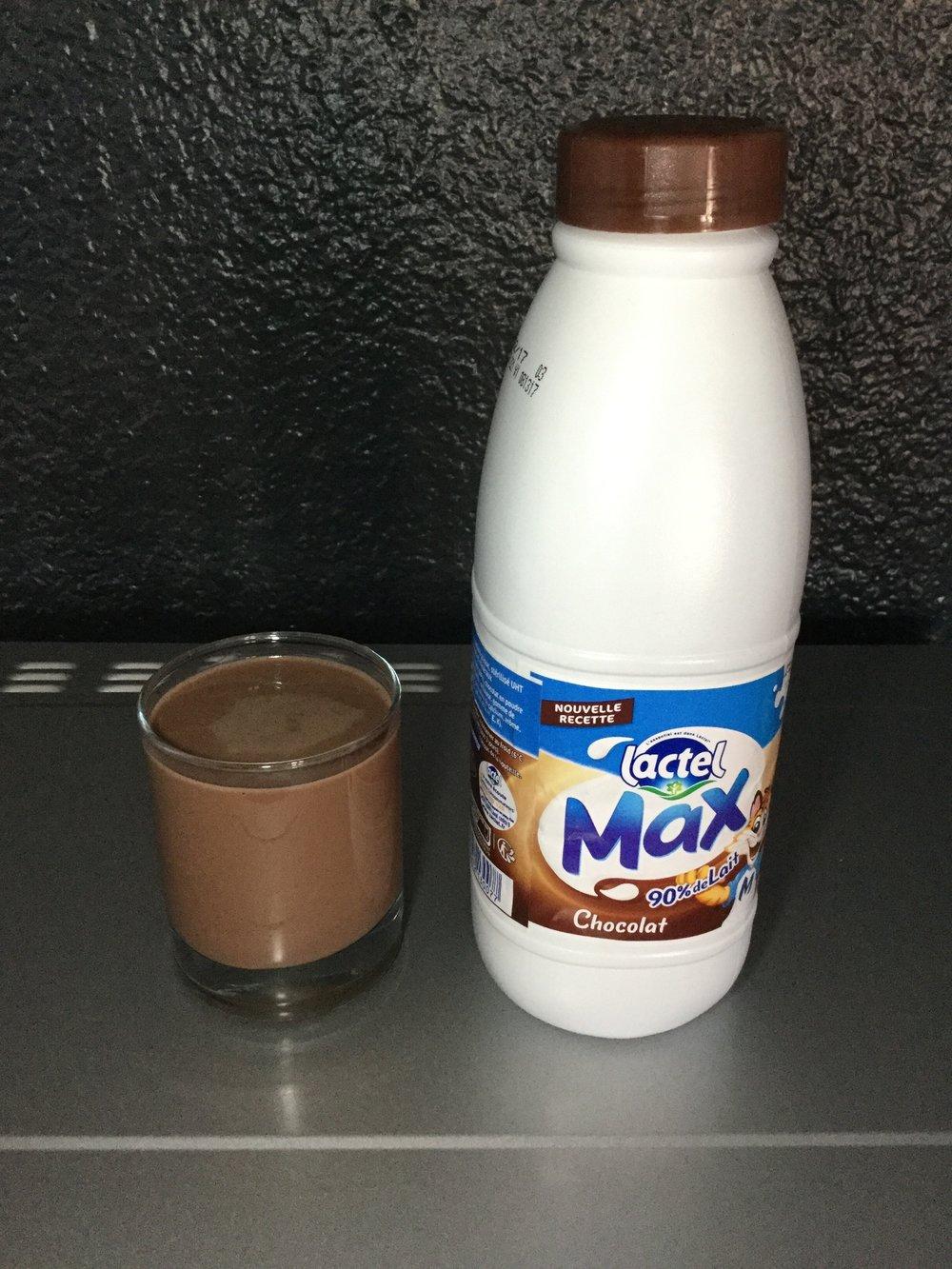 Lactel Max Chocolat Cup